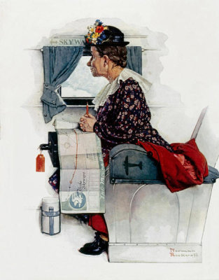 Norman Rockwell - First Flight