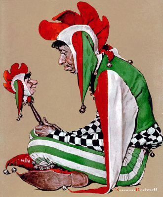 Norman Rockwell - The Jester, 1939