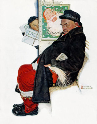 Norman Rockwell - See Him at Drysdales