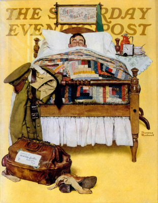 Norman Rockwell - Willie Gillis Home on Leave, 1941