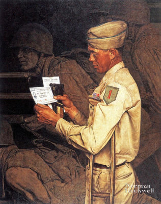 Norman Rockwell - War Bond, 1944