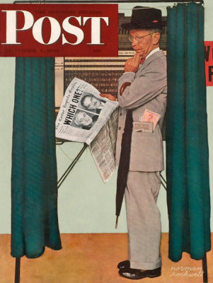 Norman Rockwell - Undecided, 1944