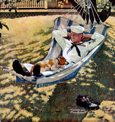 Norman Rockwell - On Leave, 1945