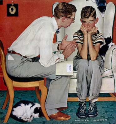 Norman Rockwell - Facts of Life, 1951