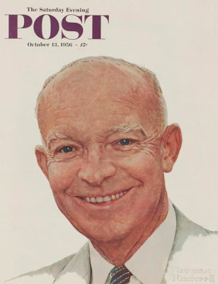 Norman Rockwell - Dwight D. Eisenhower, 1956