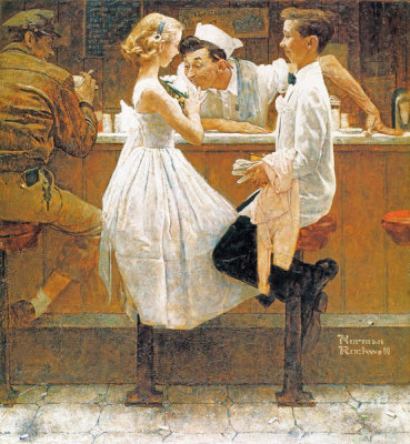 Norman Rockwell - After the Prom, 1957