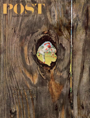 Norman Rockwell - Knothole Baseball, 1958