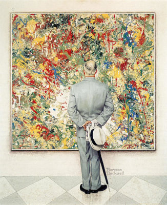 Norman Rockwell - The Connoisseur, 1962