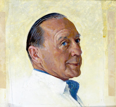 Norman Rockwell - Jack Benny, 1963