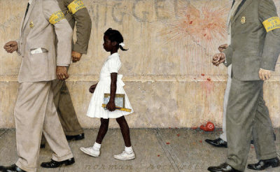 Norman Rockwell - The Problem We All Live With, 1964