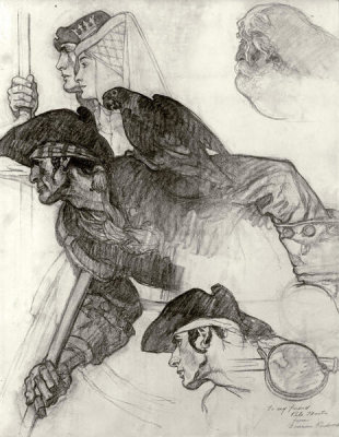 Norman Rockwell - Figure Drawings - No. 2