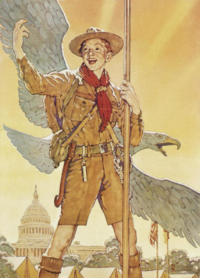 Norman Rockwell - On To Washington, 1935